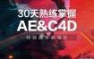 30天熟练掌握AE+C4D:特效高手就是你