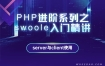 PHP进阶系列之Swoole入门精讲:Server与Clicent的使用