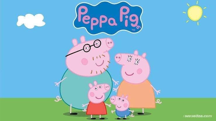 小猪佩奇Peppa Pig高清英文版1-4季全集
