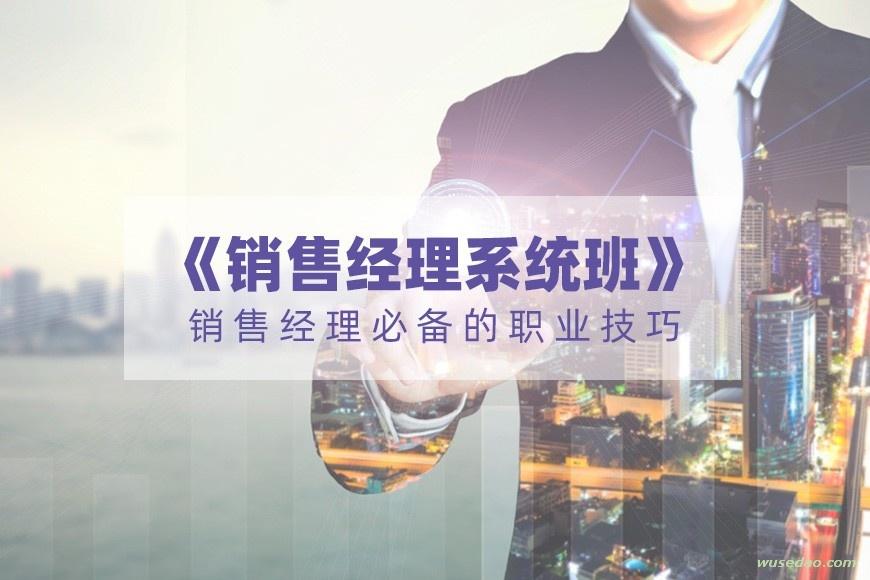 《销售经理系统班》销售经理必备的职业技巧