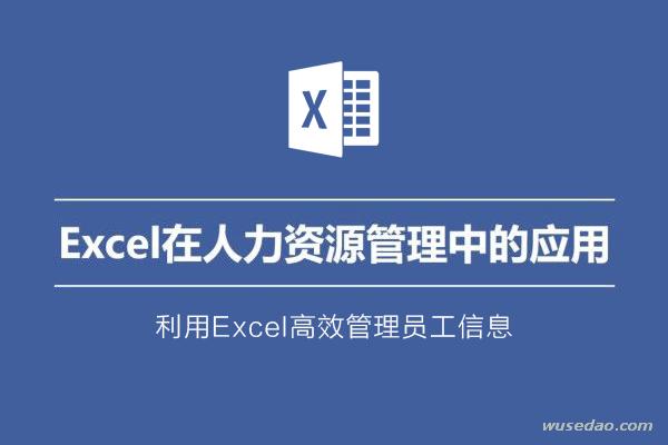 Excel在人力资源管理中的应用