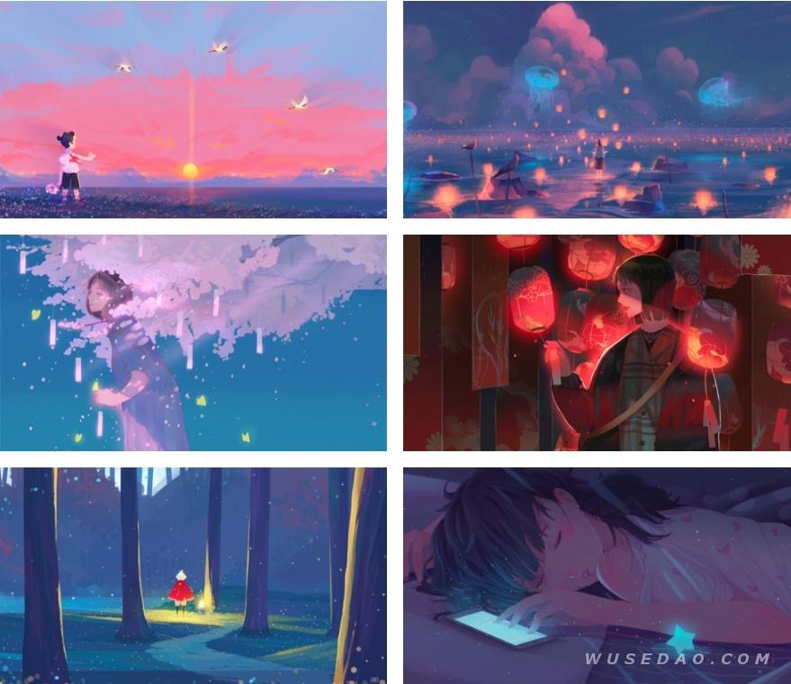 插画中的色彩与光影,夯实色彩基础理论知识